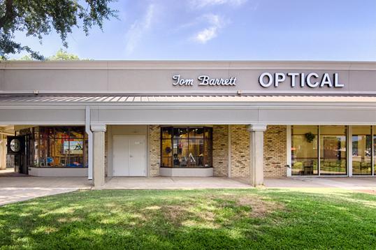Tom Barrett Optical Storefront